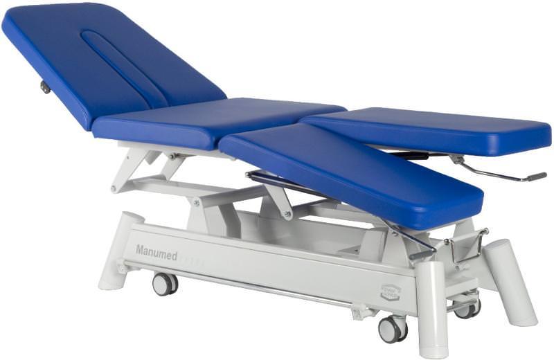 Lettini elettrici fisioterapia con poggia gambe separate