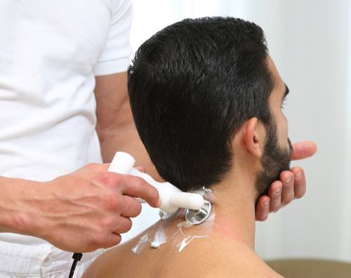 Trattamento con elettrodo profile