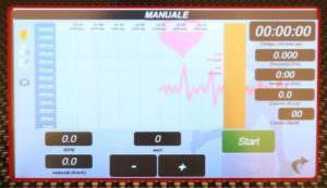 Monitor ergometri runner